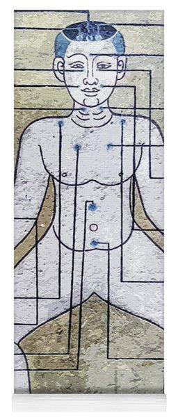 Thai Art Mural Yoga Mat