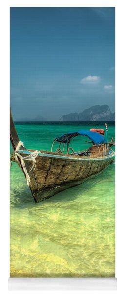 Thai Longboat  Yoga Mat