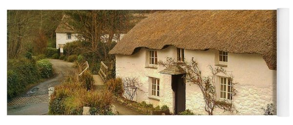 Thatched Cottage By Ford  Yoga Mat