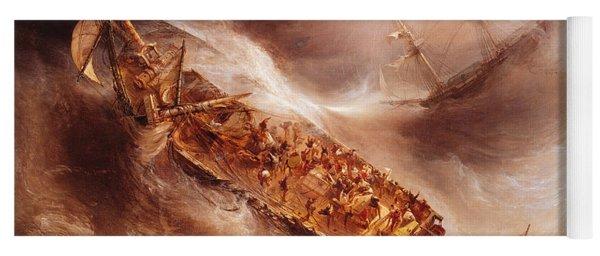 The Act Of Sacrifice Made By Captain Desse Towards The Dutch Ship Columbus Yoga Mat