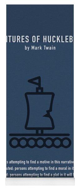 The Adventures Of Huckleberry Finn Greatest Books Ever Series 009 Yoga Mat