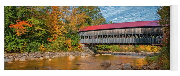 The Albany Bridge - Kancamagus Highway Yoga Mat