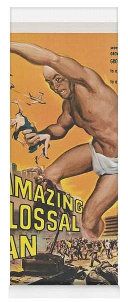 The Amazing Colossal Man Movie Poster Yoga Mat