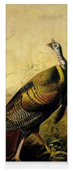 The American Wild Turkey Cock Yoga Mat
