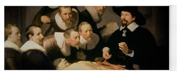The Anatomy Lesson Of Doctor Nicolaes Tulp Yoga Mat