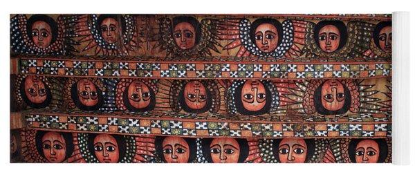 The Angels Of Debre Birhan Selassie Church Yoga Mat
