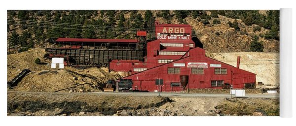 The Argo Gold Mine And Mill Yoga Mat