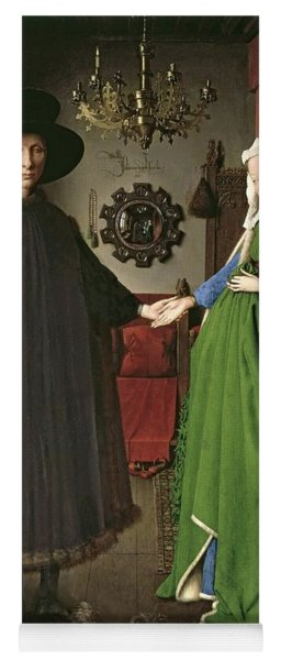 The Arnolfini Marriage Yoga Mat