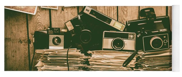 The Art Of Film Photography Yoga Mat