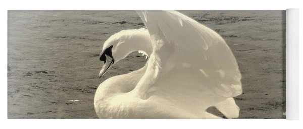 The Art Of The Swan  Yoga Mat