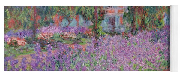 The Artists Garden At Giverny Yoga Mat
