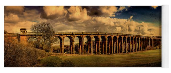 Yoga Mat featuring the photograph The Balcombe Viaduct by Chris Lord