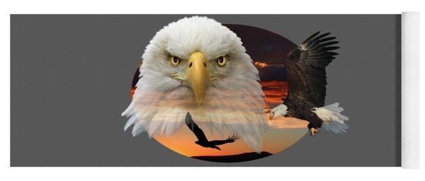 The Bald Eagle 2 Yoga Mat