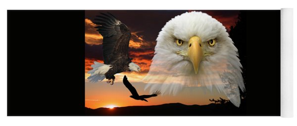 The Bald Eagle Yoga Mat