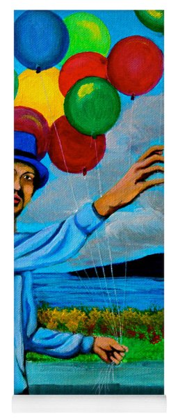 The Balloon Vendor Yoga Mat