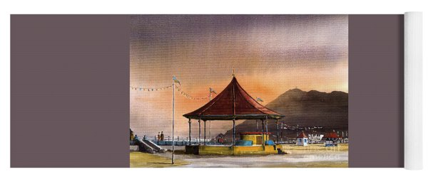 The Bandstand On Bray Promenade Yoga Mat