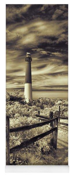 The Barnegat Lighthouse New Jersey Yoga Mat