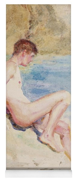 The Bather, 1910 Yoga Mat
