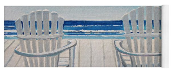 The Beach Chairs Yoga Mat