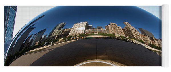 The Bean's Early Morning Reflections Yoga Mat