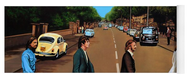 The Beatles Abbey Road Yoga Mat