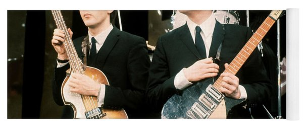 The Beatles Yoga Mat