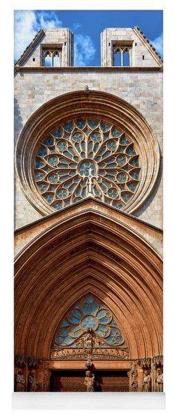 Yoga Mat featuring the photograph The Beautiful Cathedral Of Tarragona by Eduardo Jose Accorinti