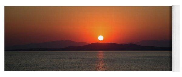 The Beauty Of Sunset Yoga Mat