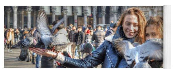 The Birds Of Milan Yoga Mat