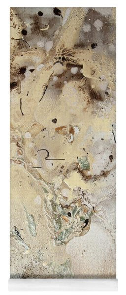 The Birth Of Universe.  Abstract Fragment 5 Yoga Mat