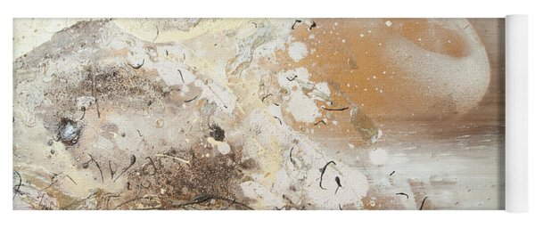The Birth Of Universe.  Abstract Fragment 6 Yoga Mat
