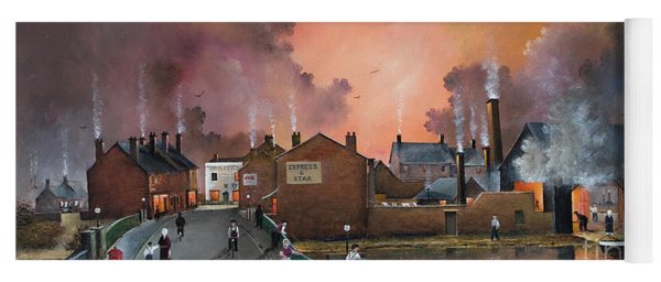 The Black Country Village Yoga Mat