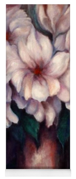 The Blue Flowers Yoga Mat