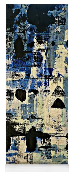 The Blues Abstract Yoga Mat