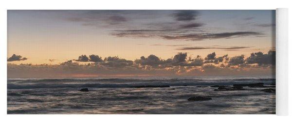 The Blues - Sunrise Seascape  Yoga Mat
