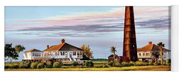 The Bolivar Lighthouse Yoga Mat