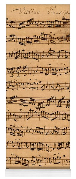 The Brandenburger Concertos Yoga Mat