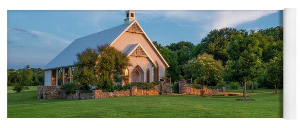 The Brooks At Weatherford Wedding Chapel Yoga Mat
