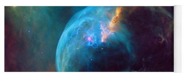 The Bubble Nebula Ngc 7653 Yoga Mat
