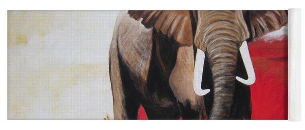 Win Win - The  Bull Elephant  Yoga Mat