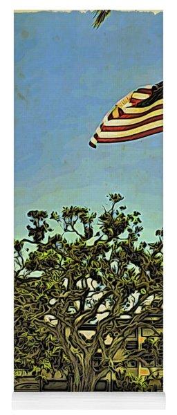 The Casements Flag Flying Yoga Mat