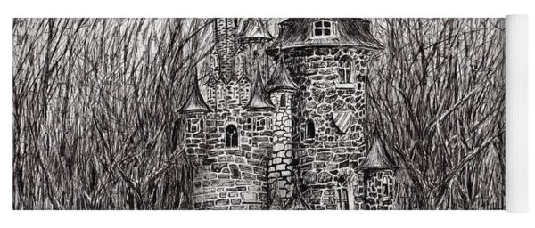 The Castle In The Forest Of Findhorn Yoga Mat