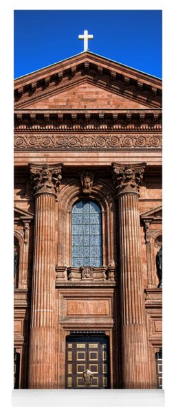 The Cathedral Basilica Of Saints Peter And Paul Yoga Mat