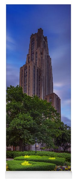 The Cathedral Of Learning Yoga Mat