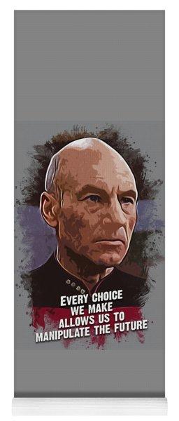 The Choice - Picard Yoga Mat
