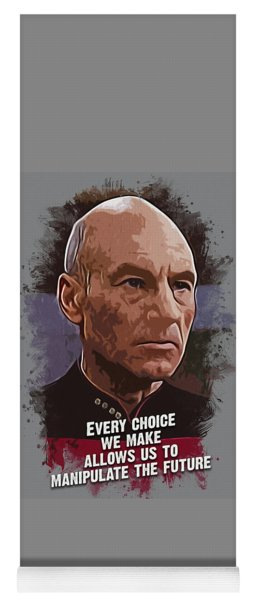 The Choice - Picard Yoga Mat