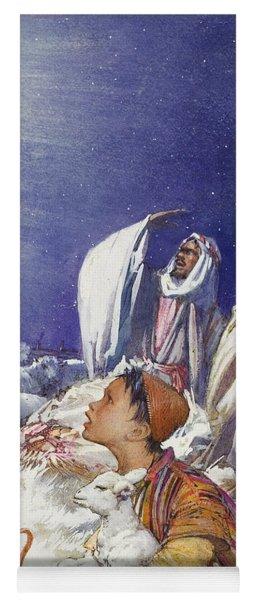 The Christmas Story The Shepherds' Tale Yoga Mat