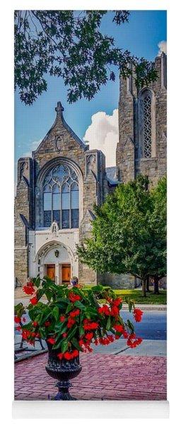 The Church In Summer Yoga Mat