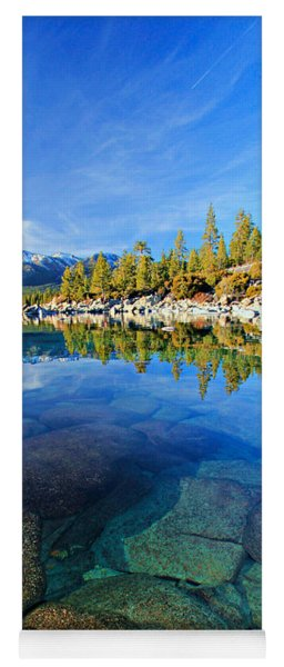 The Clarity Of Lake Tahoe Yoga Mat