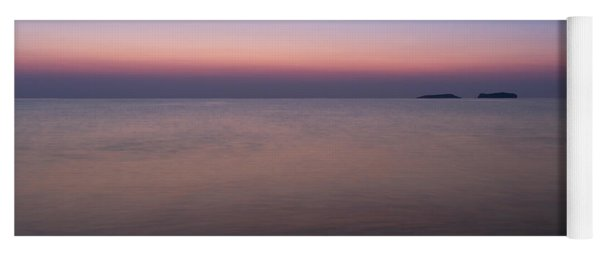 Dawn At The Mediterranean Sea Yoga Mat